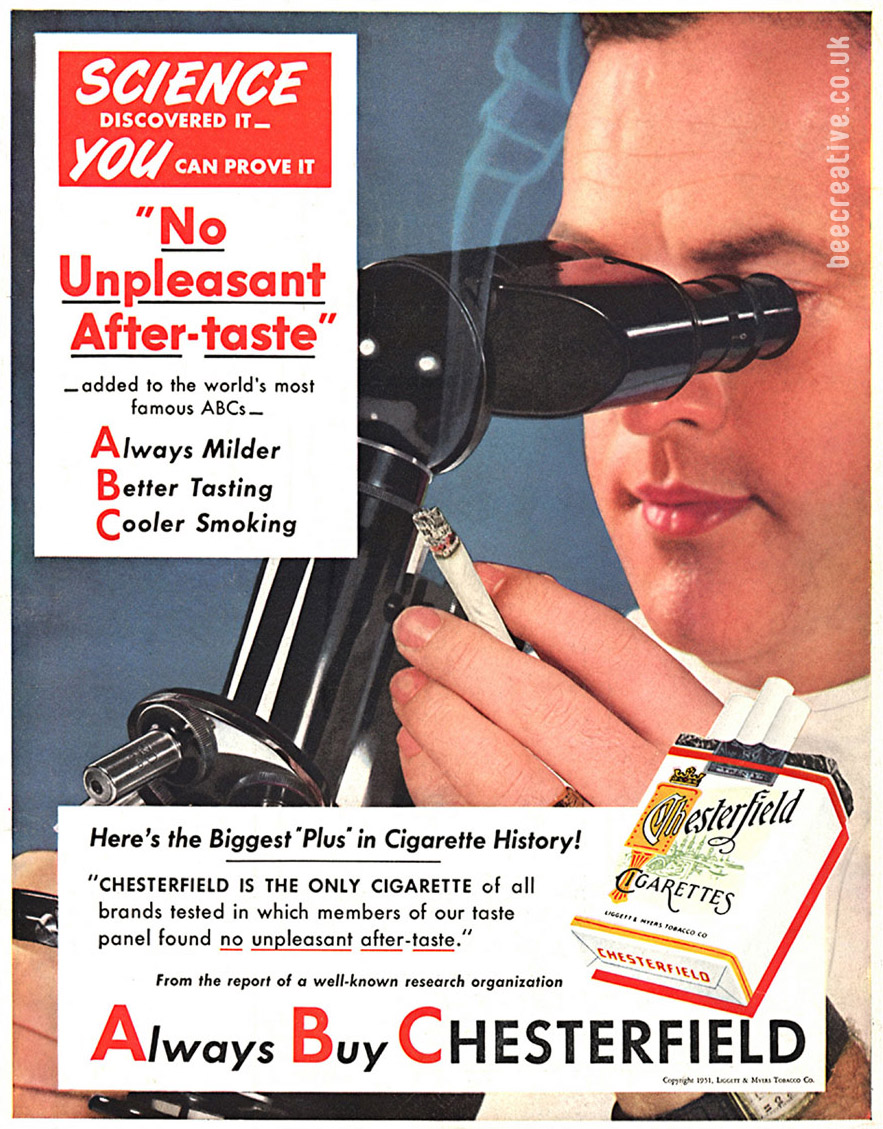 chesterfield-cigarettes-science-advert