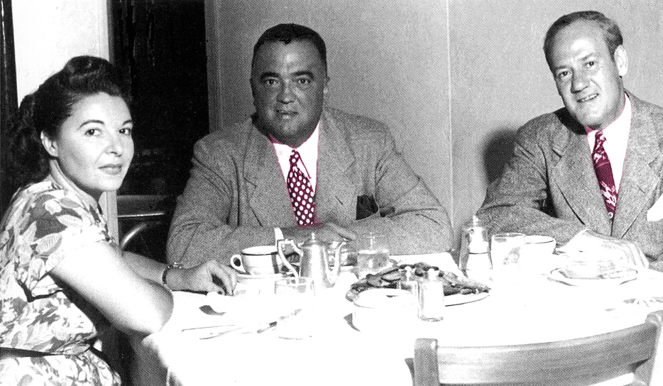 J. Edgar Hoover inside Joe's.