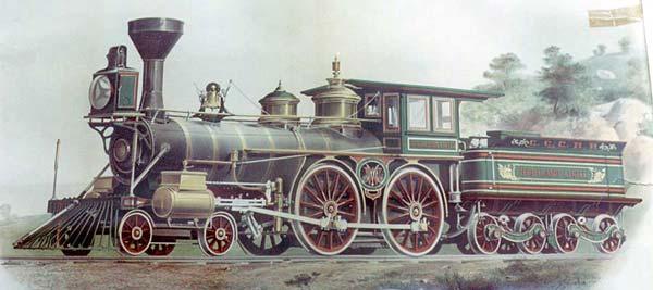Highland Light Locomotive