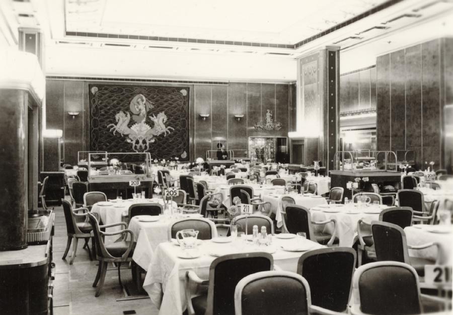 Verandah Grill, RMS Queen Elizabeth