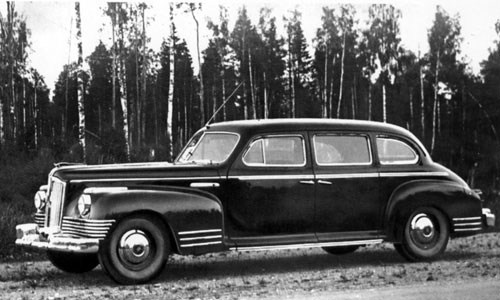 ZIS (Zavod Imeni Stalina) Saloon Automobile