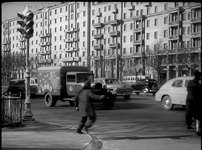 Sadovaya-Chernogriazskay Street, 1950's