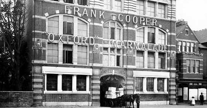 Cooper's Jam Factory.