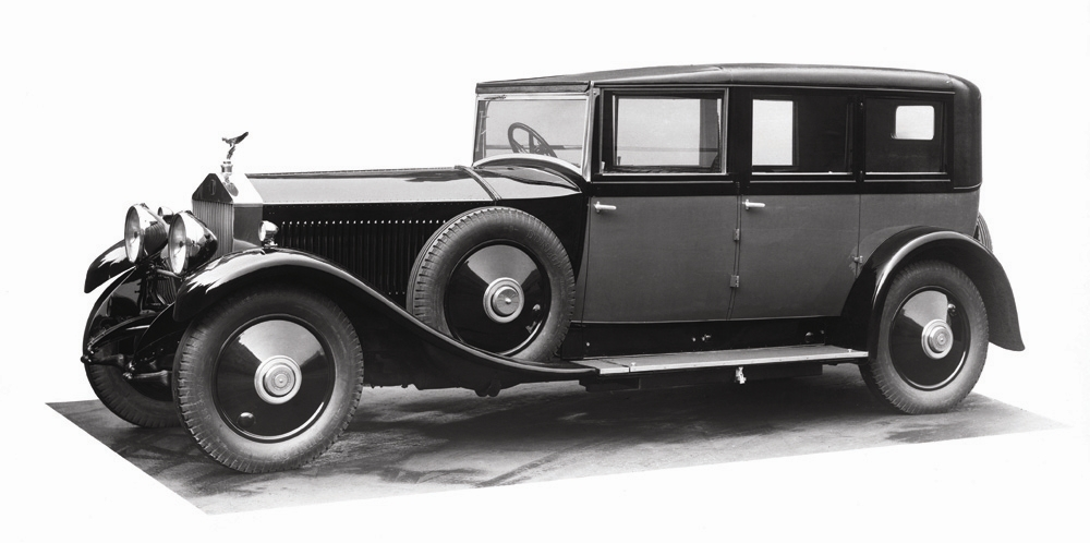 1925 Rolls-Royce Phantom I Sedanca de Ville