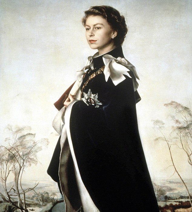 Pietro Annigoni's 1956 painting of Queen Elizabeth II