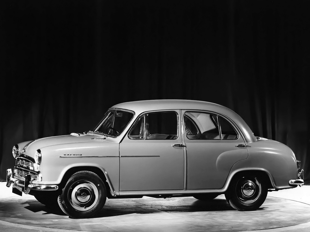 The Oxford Series II from Morris Motors