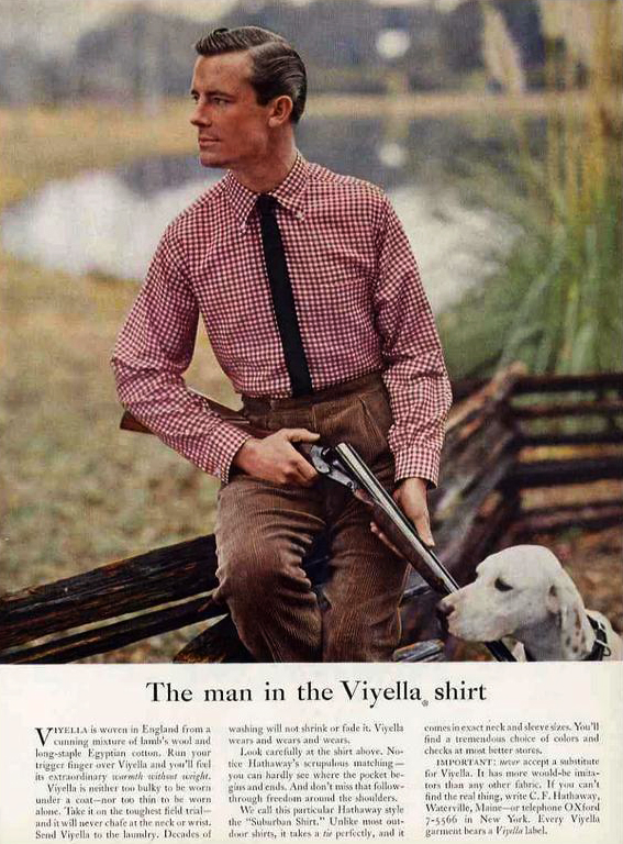 1956 Viyella Advertisement.