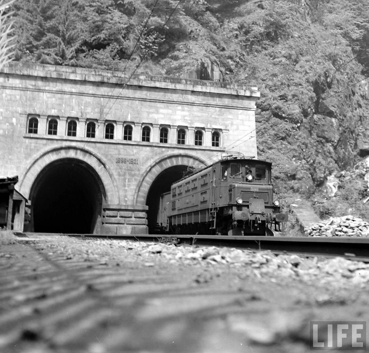 Italian Side of Simplon Tunnel.