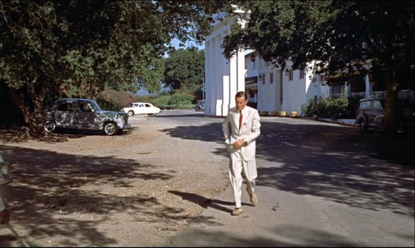 Scene from a movie filmed four years after Fleming's novel.